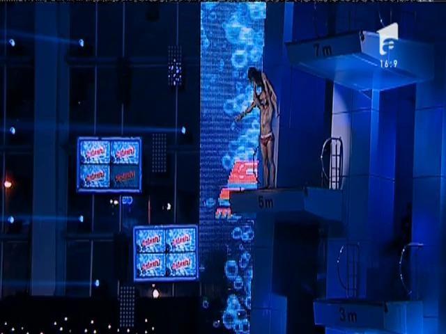 Tarzan şi Jane, mai dinamovişti ca niciodată! Giani Kiriţă şi Natalia Mateuţ, una dintre cele mai spectaculoase perechi de la Splash