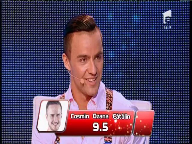 Şerban Copoţ a primit nota 8,6 din partea juriului