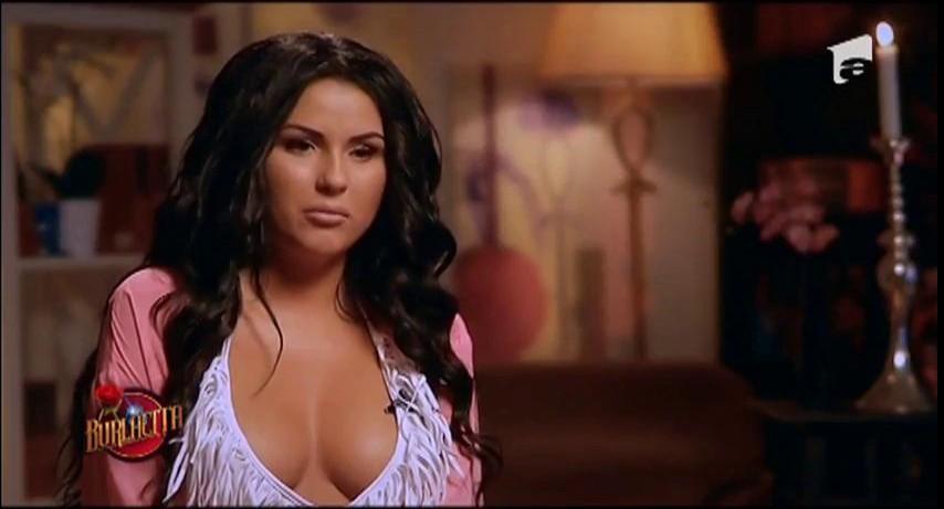 Daniela Crudu are parte de o întâlnire romantică alături de Valentin