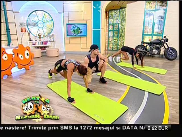 Fitness la Neatza! Tipuri de exerciţii de bază, în funcţie de condiţia fizică