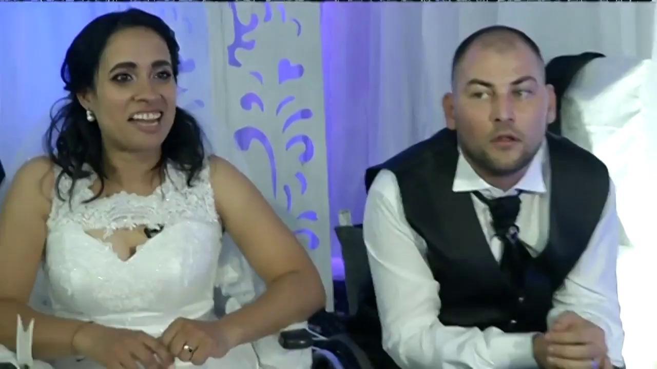 Atmosferă de senzație la petrecerea celor doi miri! Monica şi Daniel au strălucit în cea mai frumoasă zi din viaţa lor
