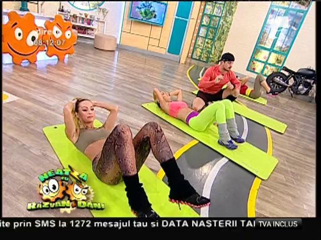 Fitness la Neatza! Exerciții simple doar cu greutatea propriului corp