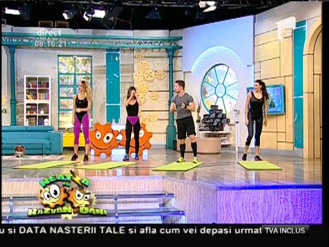 Fitness la Neatza! Antrenament funcțional cu Flavia, Miruna și Amalia