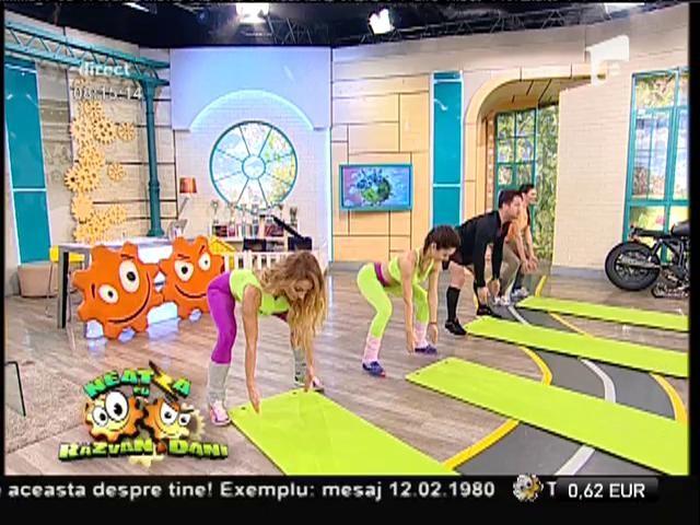 Fitness la Neatza! Gimnastică medicală pentru coloana vertebrală