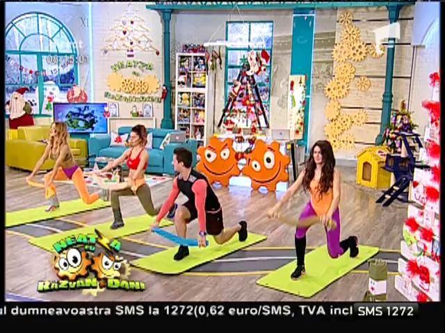 Fitness la Neatza! Exerciții cu ajutorul prosopului