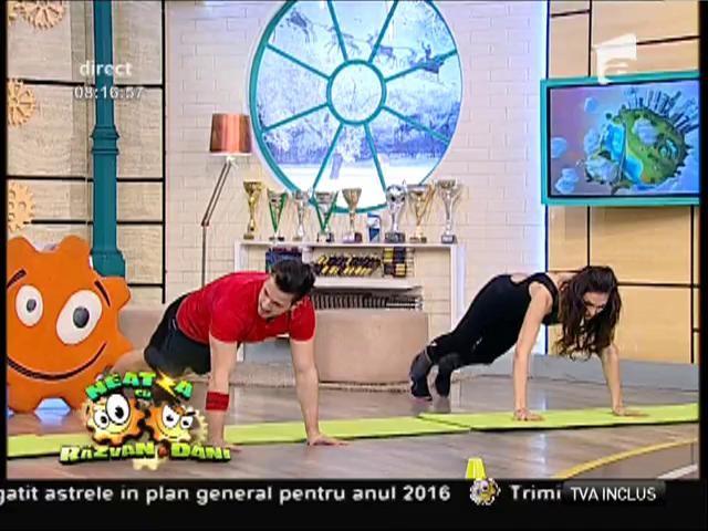 Fitness la Neatza! Antrenament pentru îmbunătățirea condiției fizice