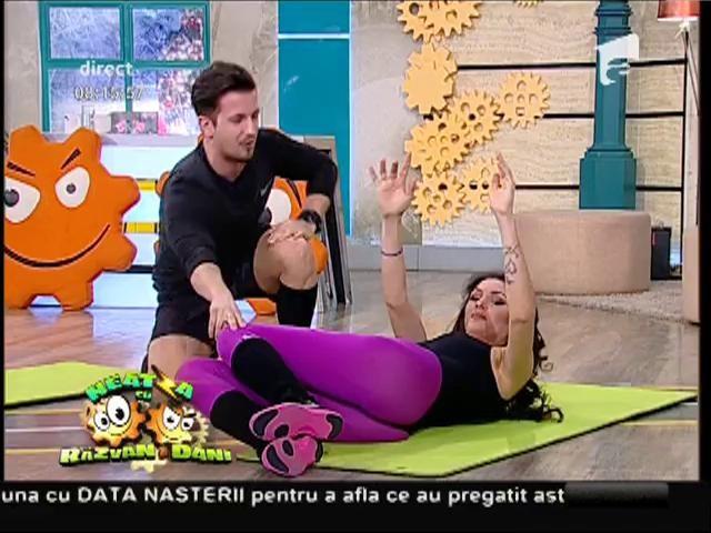 Fitness la Neatza! Cel mai bun antrenament pentru muşchii abdominali