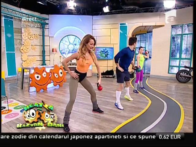 Fitness la Neatza, cel mai bun mod de a-ți începe ziua! Fă-ți exercițiile cu Flavia și Miruna