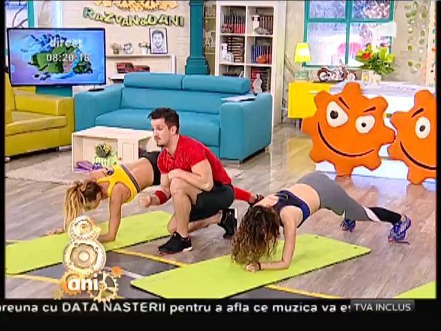 Fitness la Neatza! Exerciții pentru consumul mare de energie