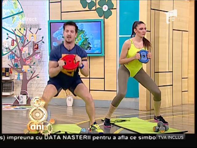 De 3 X SEXY! Flavia, Amalia şi Miruna au experimentat un nou tip de antrenament, pe care îl poți face și tu acasă!