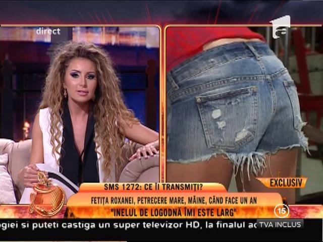 Roxana Vașniuc, apariție de senzație în platoul Un show păcătos