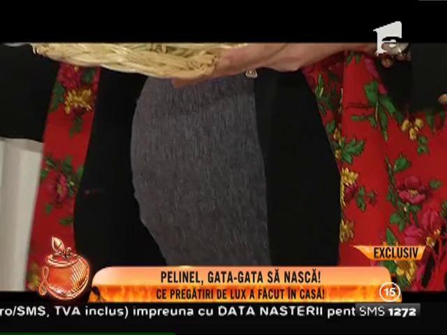 Valentina Pelinel se pregăteşte să devină mămică