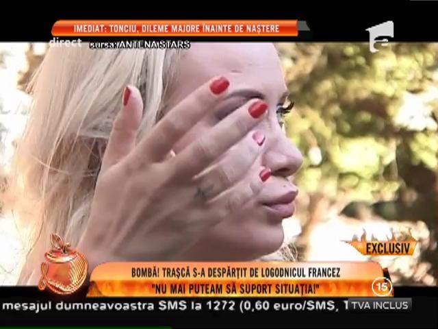 Bombă! Simona Traşcă s-a despărţit de logodnicul francez