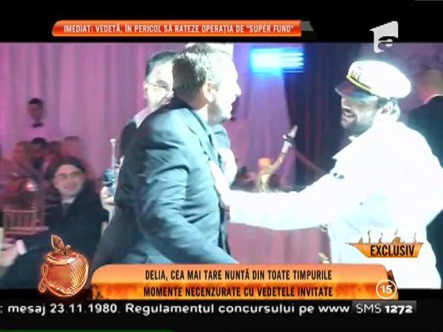 """Horia Brenciu """"One Man Show"""" la o nunta Deliei Matache"""