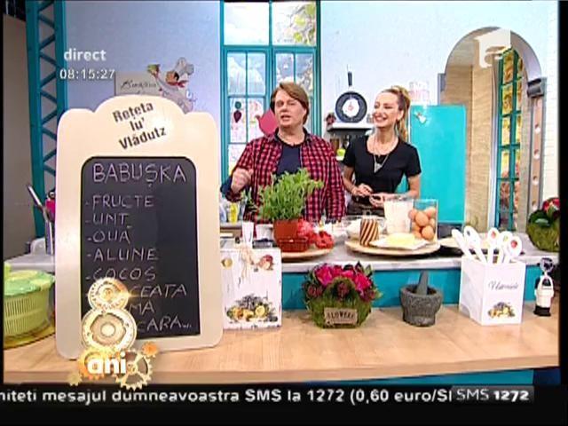 """Prăjitura """"Babușka"""", un deliciu: fructe, alune și cocos, combinația perfectă!"""