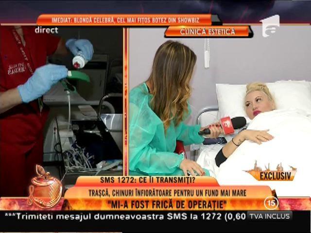 """Simona Traşcă, după operația de mărire a posteriorului: """"Trei zile voi sta cu un costum pe mine"""""""