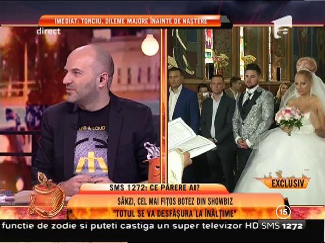 """Sânziana Buruiană, cel mai fițos botez din showbiz: """"Totul se va desfășura la înălțime"""""""