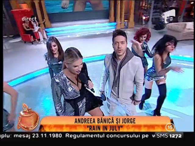 """Andreea Bănică & George - """"Rain în july"""""""