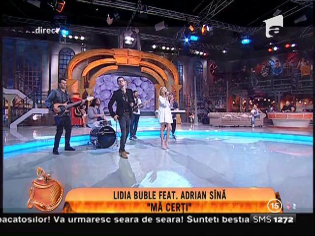 """Lidia Buble feat. Adrian Sînă - """"Mă cerți"""""""