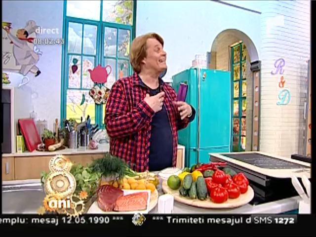 Reţeta lui Vladutz: Mirunele, un preparat delicios cu pește și legume