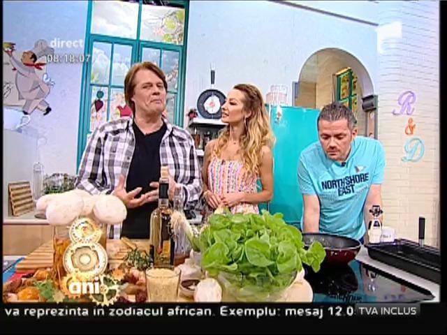 Rețeta zilei! Ciuperci preţioase cu garnitură de orez și usturoi verde: un deliciu!!!