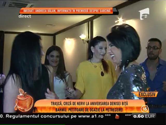 Simona Trașcă, criză de nervi la aniversarea Denisei Biță