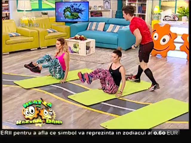 Fitness la Neatza! Antrenamentul funcțional, calorii arse în timp record