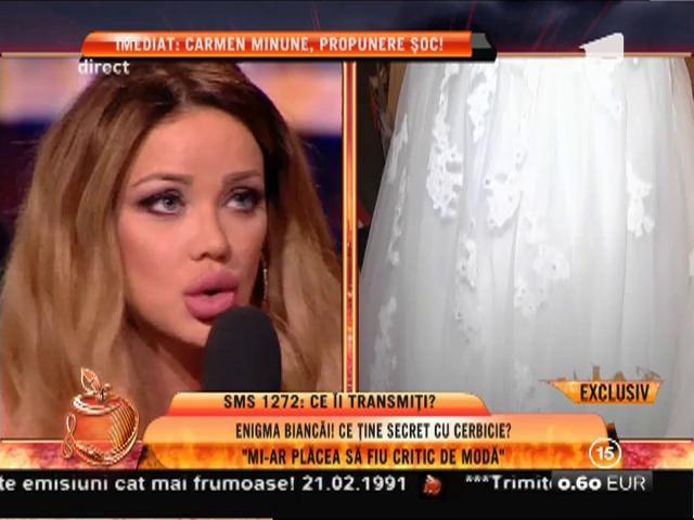 """Bianca Drăguşanu: """"Mi-ar plăcea să fiu critic de modă"""""""