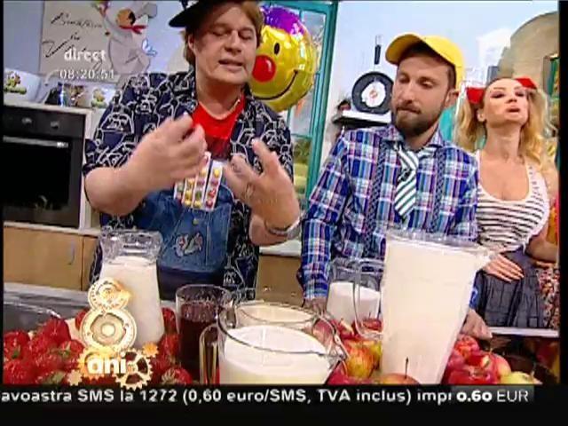 """Vlădutz n-a uitat de cei mici. Rețeta specială pentru Ziua Copilului: Prăjitura """"Tralala"""""""
