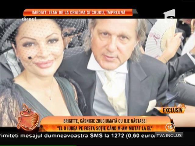 """Brigitte, căsătorie zbuciumată cu Ilie Năstase: """"El o iubea pe fosta soție când m-am mutat la el"""""""