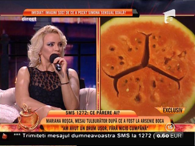 Mariana Roşca, mesaj tulburător după ce a fost la Arsenie Boca
