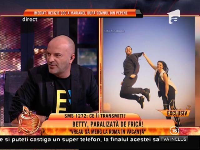 """Betty Salam, paralizată de frică! Betty: """"Vreau să merg la Roma"""""""