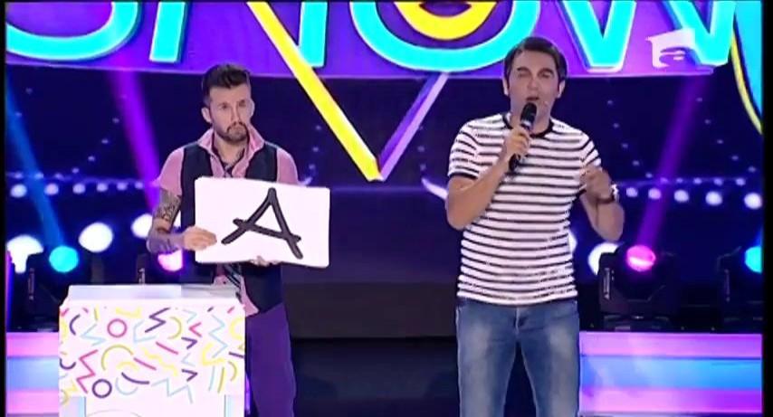 "FANtastic show: ""Alfabetul muzical"". Andreas, cel mai tare rapper"