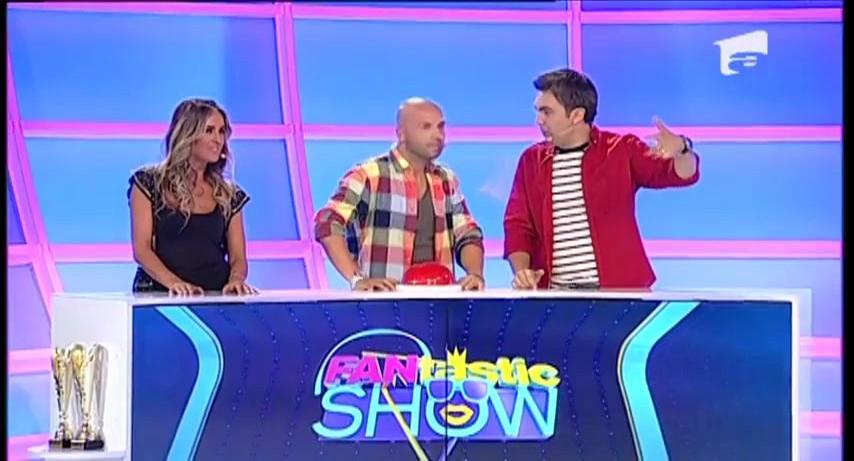 """FANtastic show: Gică Petrescu vs. Alexandra Stan la """"Ruleta muzicală"""""""