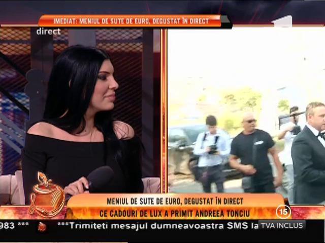 """Andreea Tonciu, dezvăluire despre rochia de mireasă: """"A fost închiriată"""""""