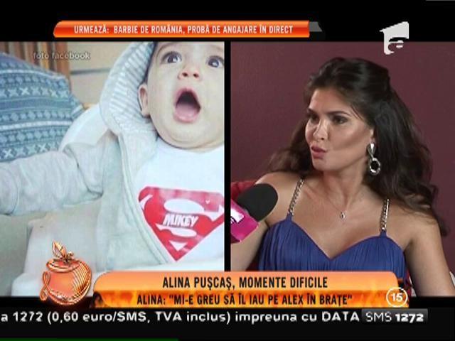 Gravidă în luna a şaptea, Alina Puşcaş trece prin momente grele