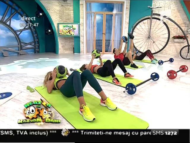 Fitness la Neatza! Un antrenament complet şi complex