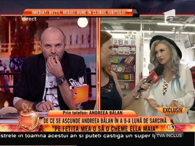 """Andreea Bălan: """"M-am îngrășat nouă kilograme. Abia aștept să scap"""""""