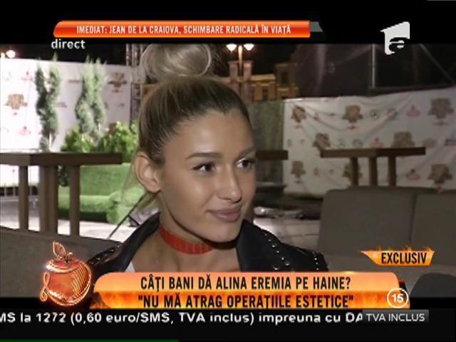 """Alina Eremia: """"Nu mă atrag operațiile estetice"""""""