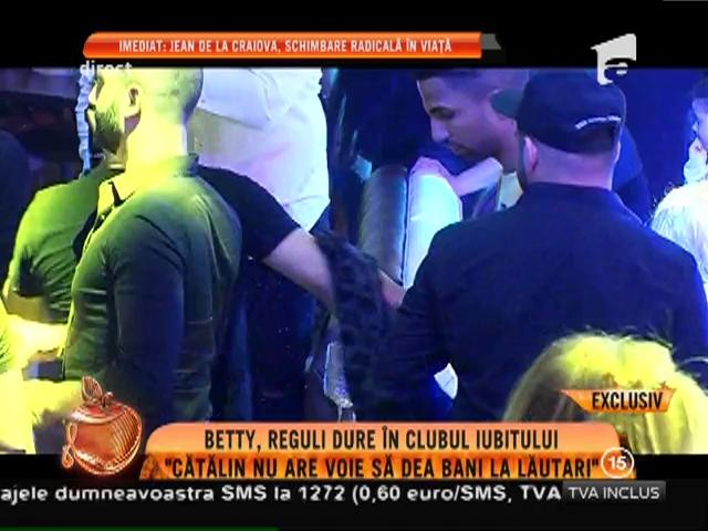 """Betty Salam, reguli dure în clubul iubitului: """"Cătălin nu are voie să dea bani la lăutari"""""""