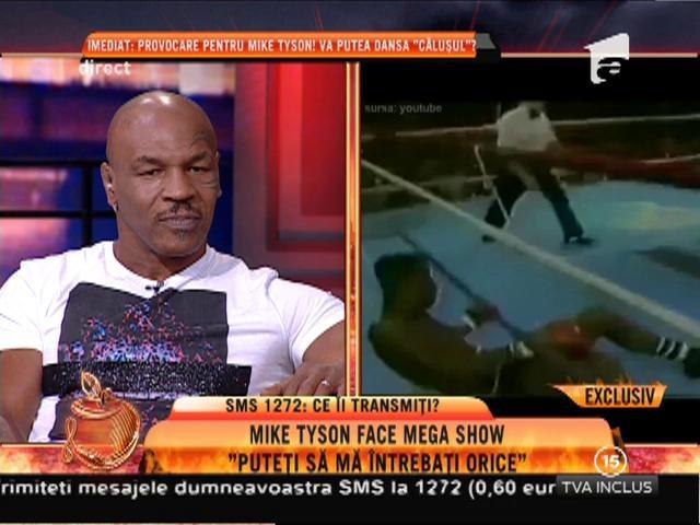 """Mike Tyson: """"De trecut nu scapi, trebuie să-l iei în brațe"""""""