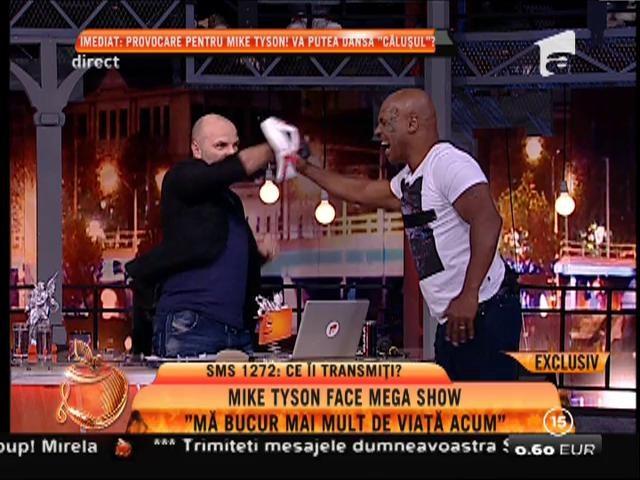 Mike Tyson il provoacă pe Dan Captos!