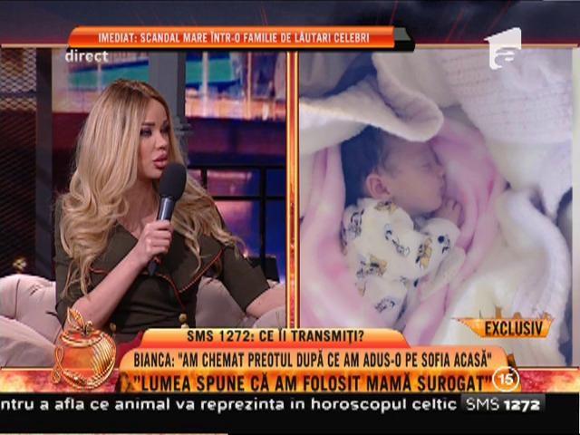 """Bianca Drăguşanu: """"Lumea crede şi acum că am folosit o mamă surogat"""""""