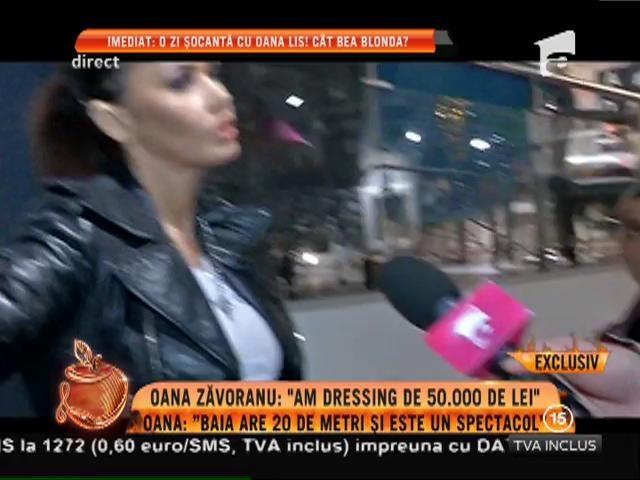 """Oana Zăvoranu a bagat o avere în reamenajarea locuinţei: """"Numai dressingul costă 50.000 de lei!"""""""