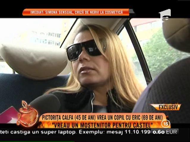 """Pictorița Mariana Calfa: """"Vreau un moștenitor pentru castel"""""""