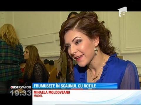Frumusete in scaunul cu rotile, Observator TV, Antena 1, octombrie 2016