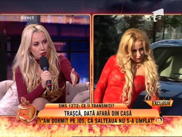 """Simona Trașcă, dată afară din casă: """"De trei zile dorm pe jos!"""""""
