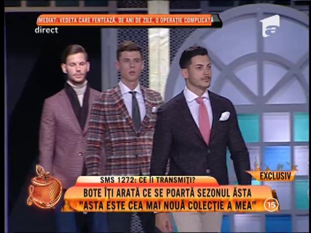 """Cătălin Botezatu, prezentare de modă la """"Un show păcătos"""": """"Acesta este cea mai nouă colecție a mea"""""""