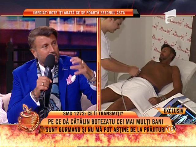 """Cătălin Botezatu: """"Sunt gurmand și nu mă pot abține de la prăjituri"""""""