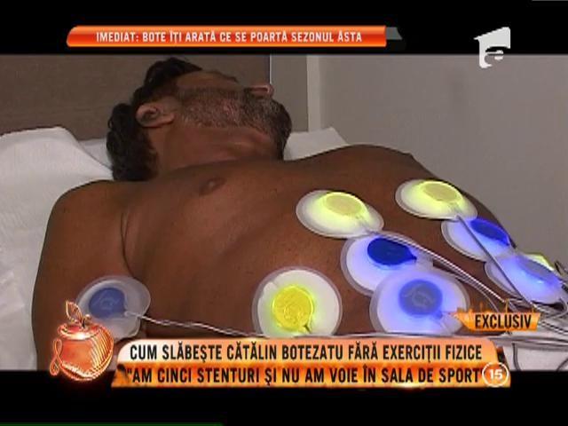 """Cum slăbește Cătălin Botezatu fără să facă exerciții fizice: """"Am cinci stenturi și nu am voie în sala de sport"""""""